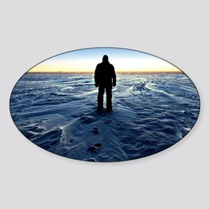 Antarctic Sunset Sticker