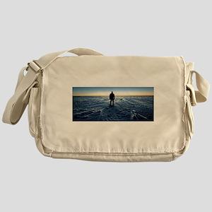 Antarctic Sunset Messenger Bag