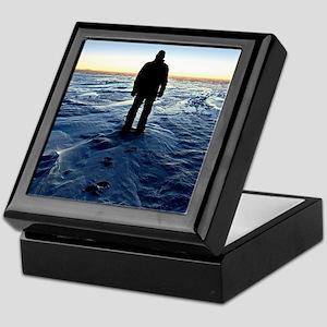 Antarctic Sunset Keepsake Box