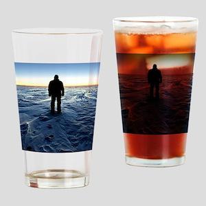 Antarctic Sunset Drinking Glass