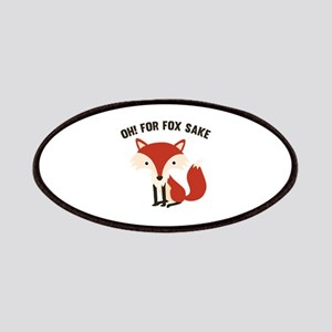 Oh! For Fox Sake Patches