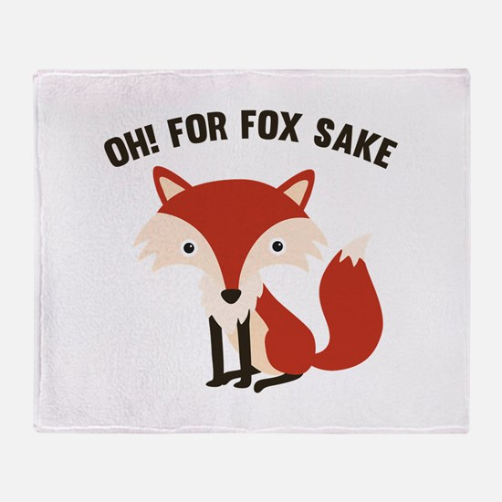 Oh! For Fox Sake Stadium Blanket