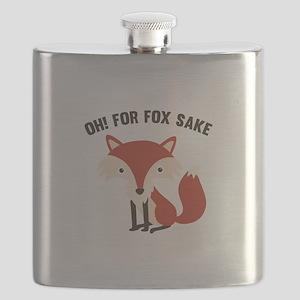 Oh! For Fox Sake Flask