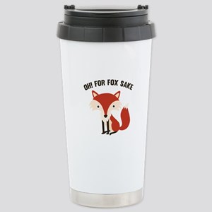 Oh! For Fox Sake Ceramic Travel Mug