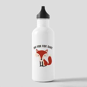 Oh! For Fox Sake Stainless Water Bottle 1.0L