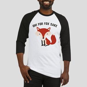 Oh! For Fox Sake Baseball Jersey