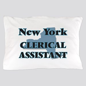 New York Clerical Assistant Pillow Case
