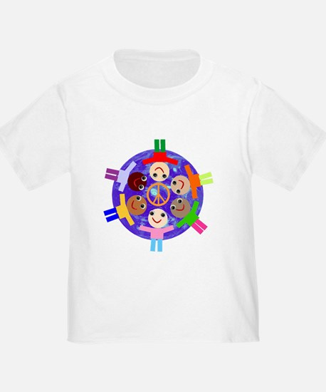 Cute Peace kids T