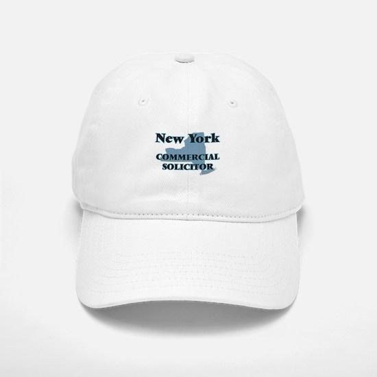 New York Commercial Solicitor Baseball Baseball Cap