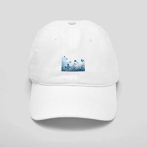 9c4e576c535 Flowers and Butterflies Baseball Cap