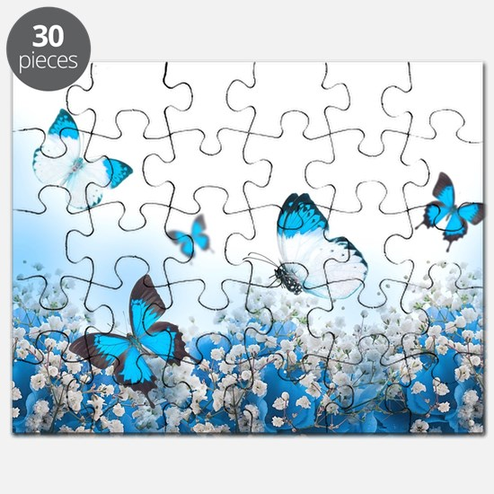 Flowers and Butterflies Puzzle