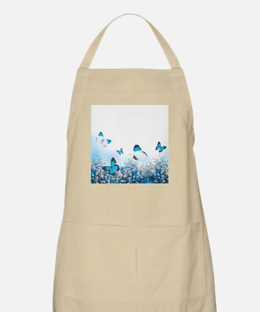 Flowers and Butterflies Apron