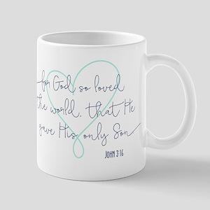Because He Loved Us Mugs