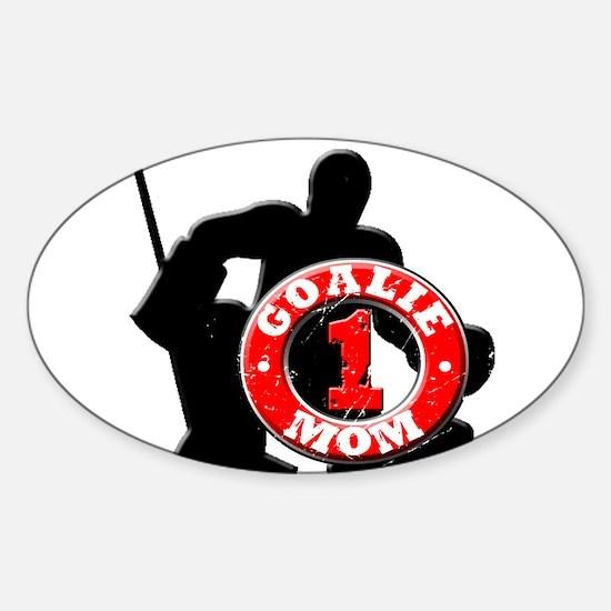 Cute Hockey fans Sticker (Oval)