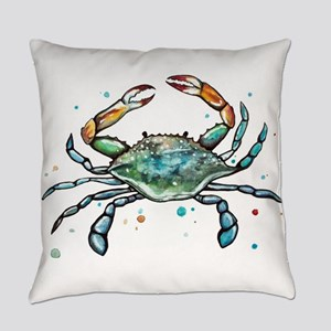 Maryland Blue Crab Everyday Pillow