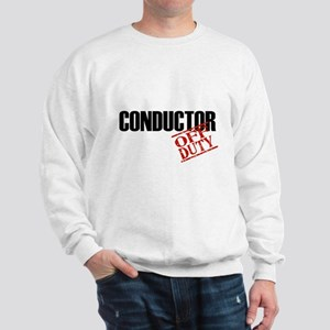 Off Duty Conductor Sweatshirt