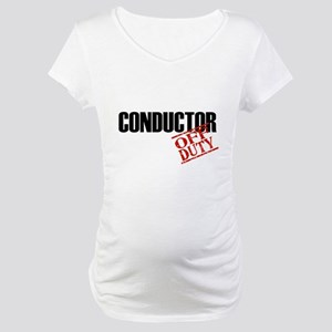 Off Duty Conductor Maternity T-Shirt