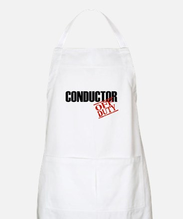 Off Duty Conductor BBQ Apron