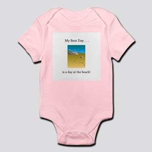 Best Day Footprints in Sand Gifts Body Suit