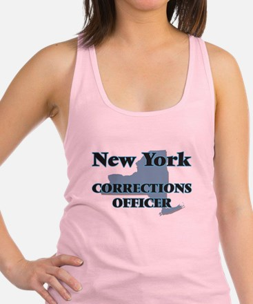 New York Corrections Officer Racerback Tank Top