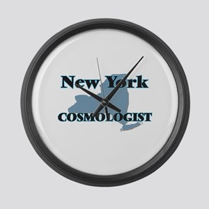 New York Cosmologist Large Wall Clock