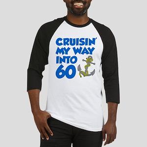 Cruisin Into 60 Baseball Jersey
