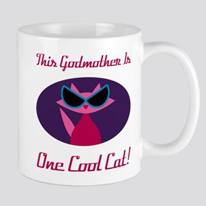 Godmother Cool Cat Mugs