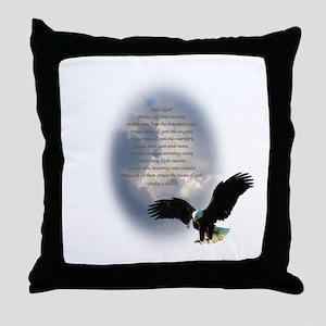 Nature's Prayer Throw Pillow