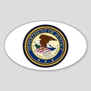 GOVERNMENR SEAL - DEPARTMENT OF JUSTICE! Sticker