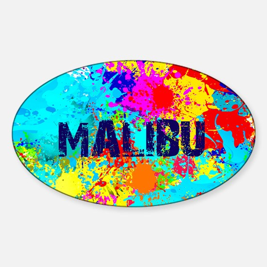 MALIBU BURST Decal