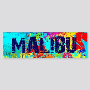MALIBU BURST Bumper Sticker