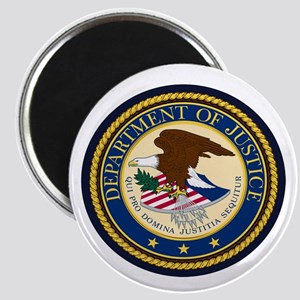 GOVERNMENR SEAL - DEPARTMENT OF JUSTICE! Magnets