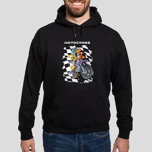 young motocross racer Sweatshirt
