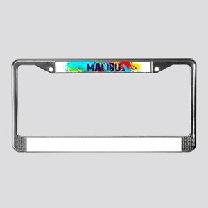 MALIBU BURST License Plate Frame