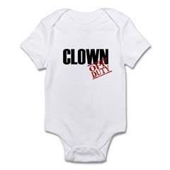 Off Duty Clown Infant Bodysuit