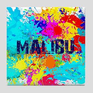 MALIBU BURST Tile Coaster