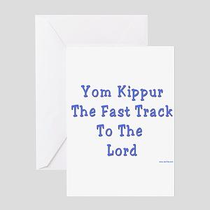 Yom Kippur The Fast Track Greeting Card