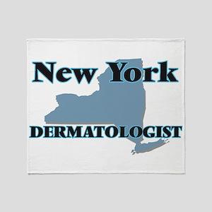 New York Dermatologist Throw Blanket