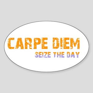 CARPE DIEM SEIZE THE DAY Sticker