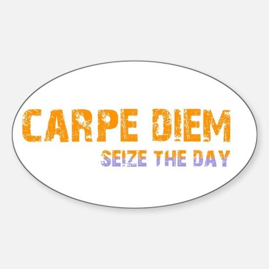 CARPE DIEM SEIZE THE DAY Decal