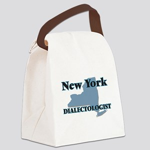 New York Dialectologist Canvas Lunch Bag