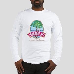 Longboat Key Oval - Long Sleeve T-Shirt
