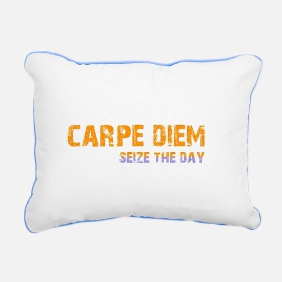 CARPE DIEM SEIZE THE DAY Rectangular Canvas Pillow