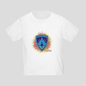 GOTG Logo Neon Splat Toddler T-Shirt