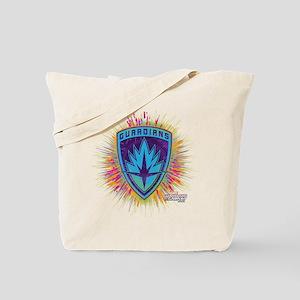 GOTG Logo Neon Splat Tote Bag