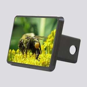 Bee with Pollen sacs Rectangular Hitch Cover