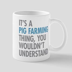 Pig Farming Thing Mugs