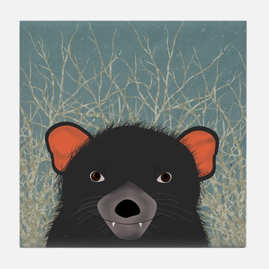 Tasmanian Devil Tile Coaster