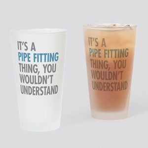 Pipe Fitting Thing Drinking Glass