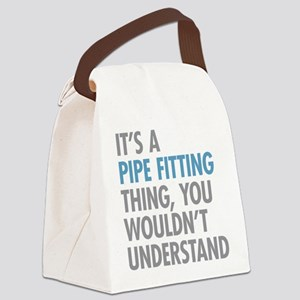 Pipe Fitting Thing Canvas Lunch Bag